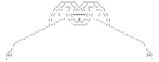 Ascii Bird Of Prey Long Live The Klingon Empire Ktesh Flickr