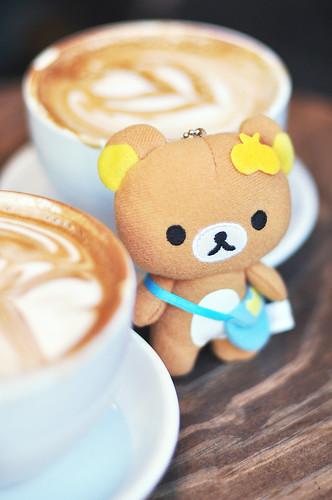 Rilakkuma @ Third Rail Coffee