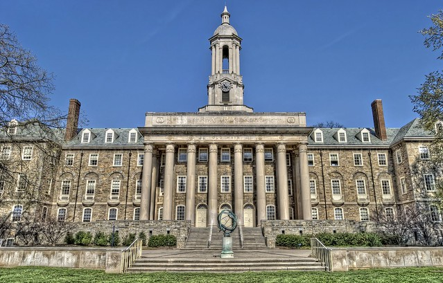 Old Main at Penn State HDR