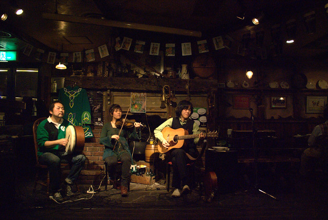 St Pat Day session 2011 at The Roundstone. 495