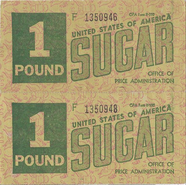 World war ii ration coupons
