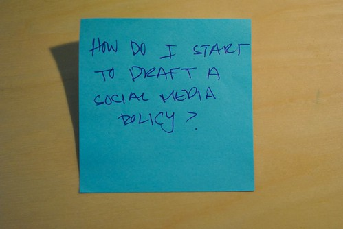 Social Media Policy: How To Write It