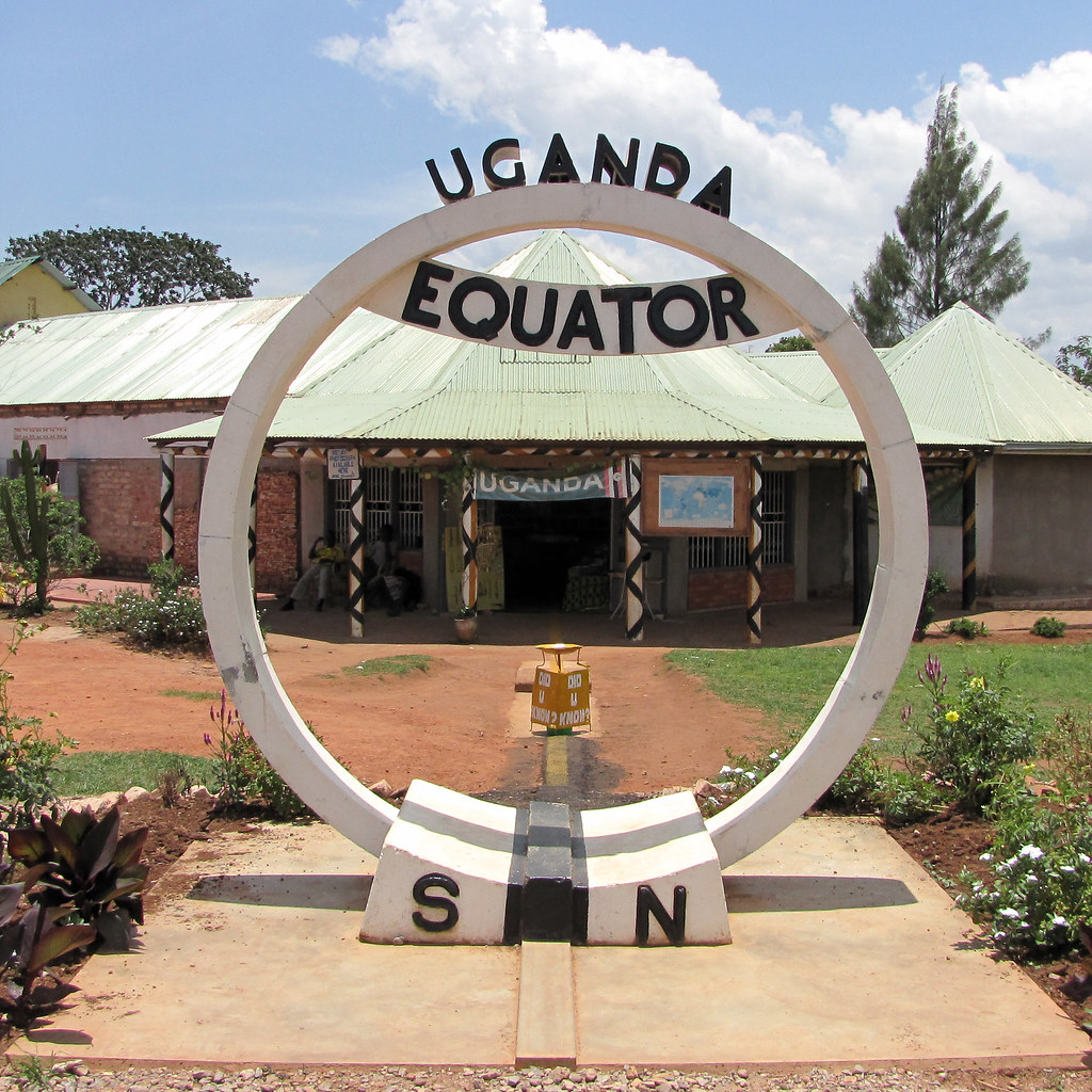 The equator in Uganda