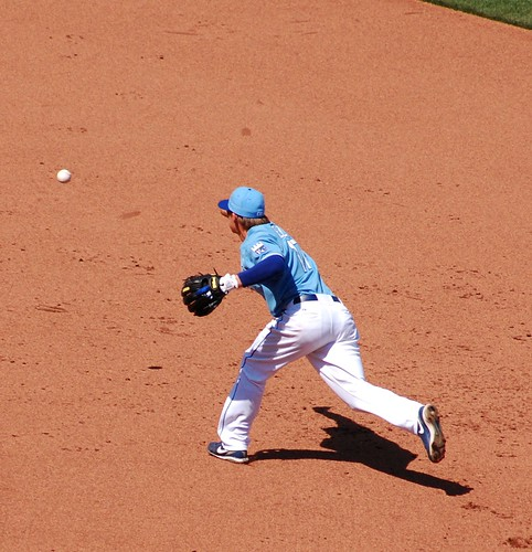 Getz flipping to 2nd base