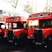 London transport 738J & 739J Breakdown Tenders 1950.