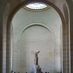 Nike of Samothrace From Upper Stair