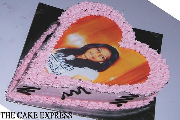 Heart Shape Cake Best Cake Delhi Designer Cake Delhi Cust Flickr