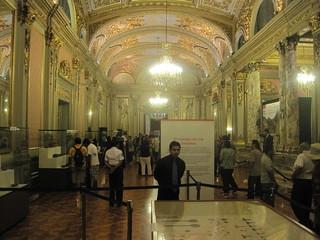 Зображення Salón Dorado. peru de downtown lima centro palacio