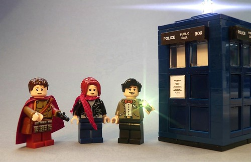 Dr Who and friends