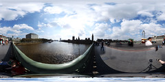 Westminster bridge spherical gigapixel panorama