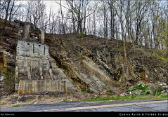 Quarry Ruins & Folded Strata
