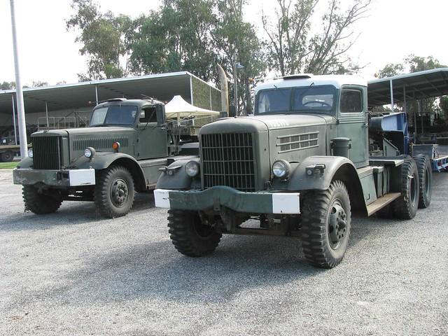 Diamond T and Federal trucks