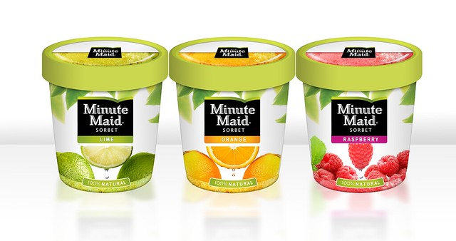Minute Maid Sorbet XD