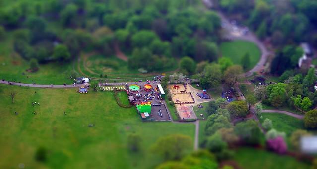 Moss Bank Park, Bolton - Tiltshift