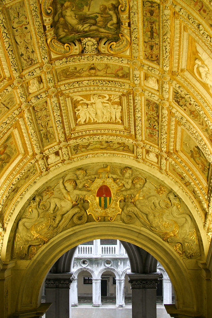 Scala D'Oro in the Palazzo Ducale by Andrew Ross