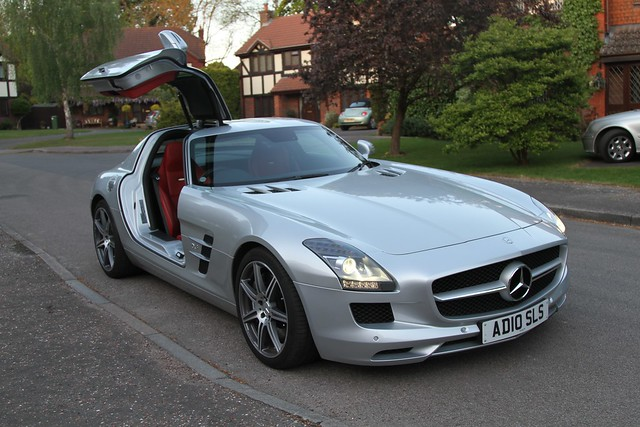 SLS AMG (C197) - Mercedes-Benz
