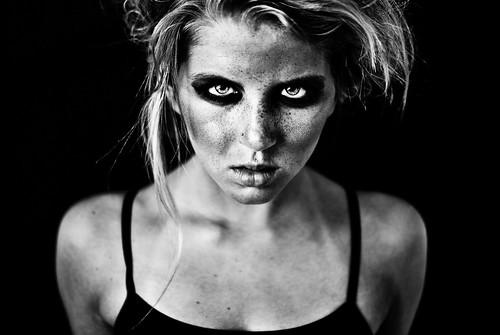 dark eyes power mean strength antm caridee smize