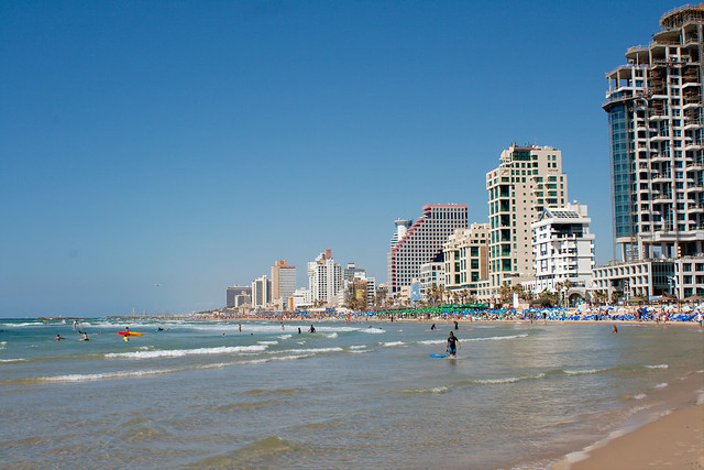 Tel Aviv Beach by Christian Haugen, on Flickr