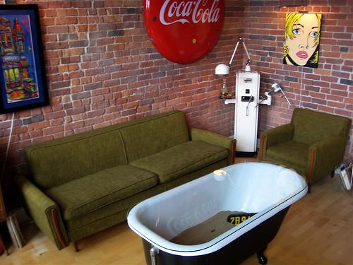 Loft Retro Vintage Sofa