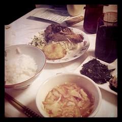 夕飯でゴザーァールー(・∀・)