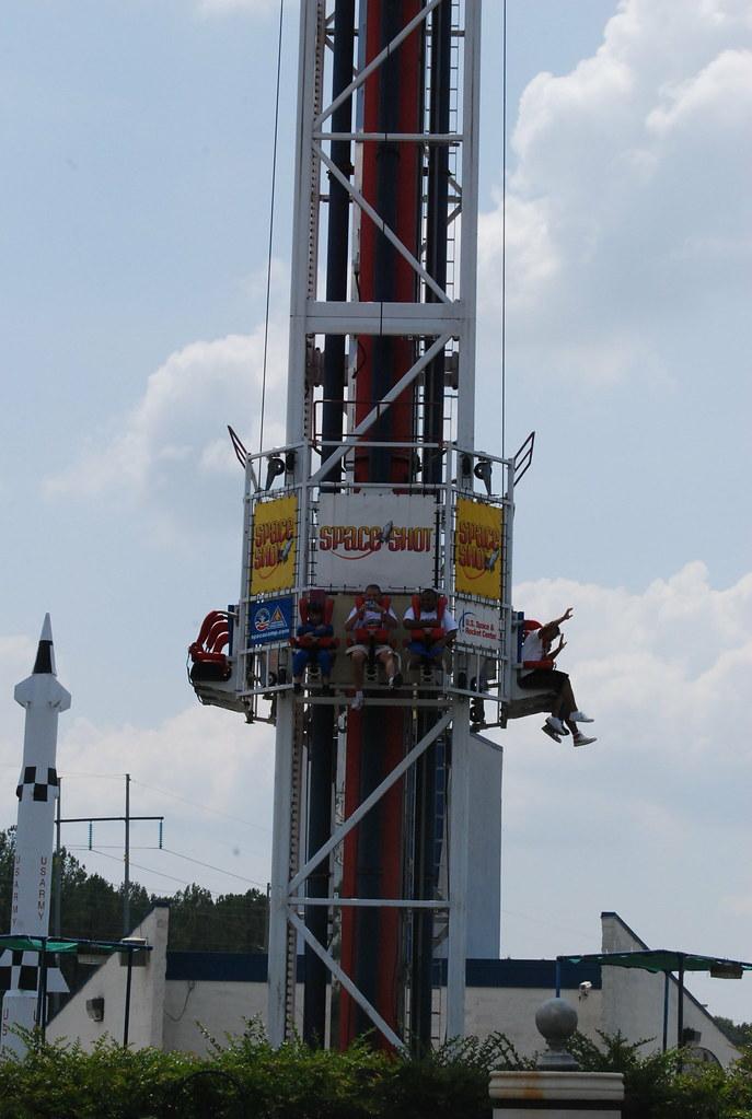 Space Shot Ride, U.S. Space & Rocket Ctr., Huntsville, AL ...