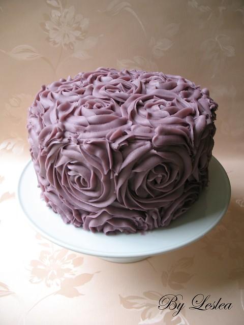Cake With Roses Buttercream : Buttercream Roses Cake Flickr - Photo Sharing!