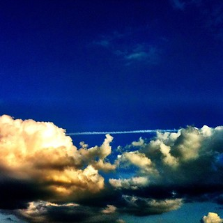Line between Clouds #filter #vibrant #clarity