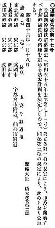 新幹線基本計画1