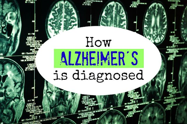 How is Alzheimer's diagnosed?