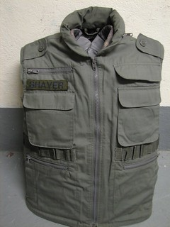 improvised 1990's body armor
