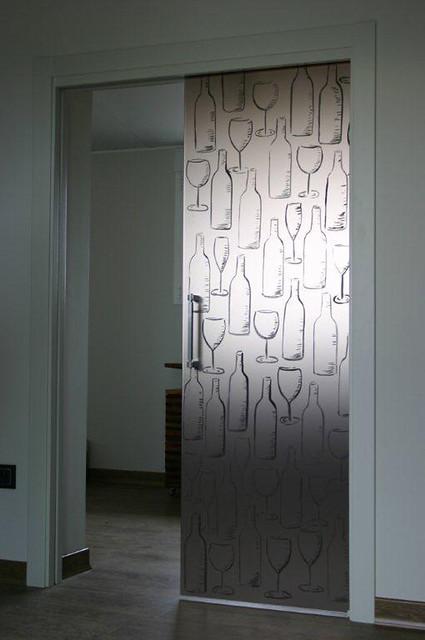 Puertas correderas de cristal vidreglass - Puertas correderas de cristal empotradas ...
