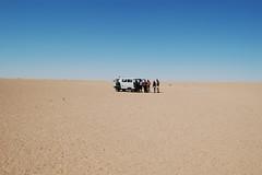 erg, horizon, sand, natural environment, desert, landscape,