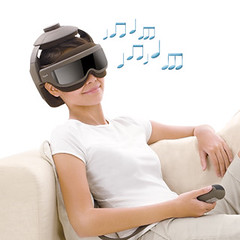 uCrown Pro - Anti-stress head & eye massager for better well-being