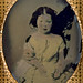 Small photo of Unidentified young girl