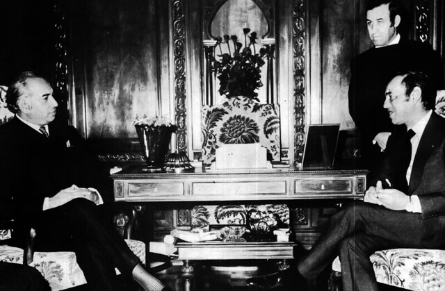 Talks with the Moroccan monarch