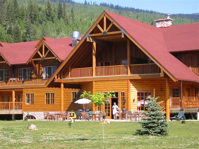 La Maison du Glacier (Colombie-Britannique, Canada)