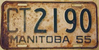 MANITOBA 1955 ---COMMERCIAL TRUCK ANNUAL ISSUE