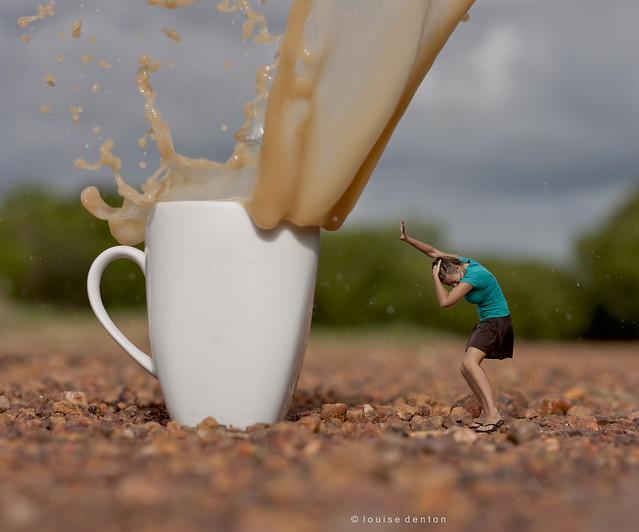Coffee Splash, with a twist!