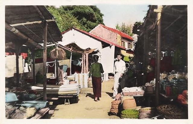 HONGAY -  un coin du marché