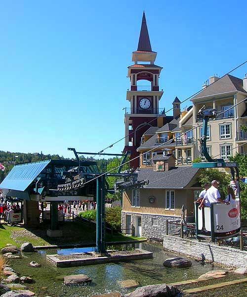 how to go to mont tremblant from montreal