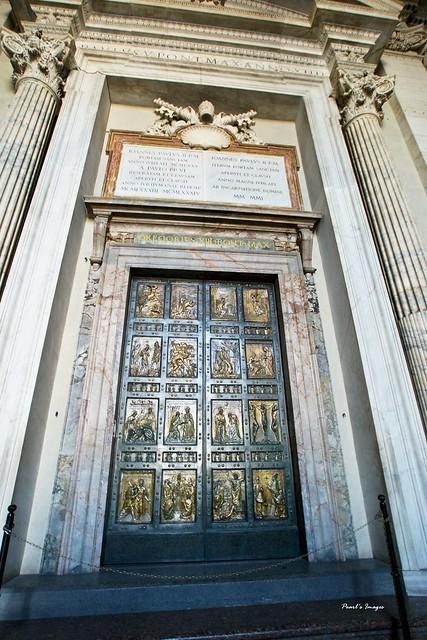 梵諦岡 聖彼得大教堂 25年開一次的聖門