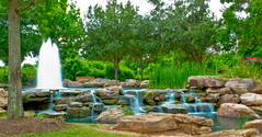 Fountain at Oyster Creek Park 2