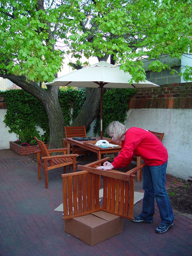 Garden Furniture Teak bringing teak outdoor furniture back from the brink - old town home