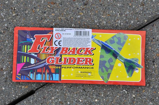 Fly Back Glider.