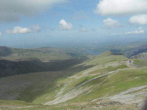 A stunning view of the sublime Snowdon.