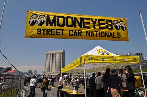 MOONEYES Street Car Nationals FLAG