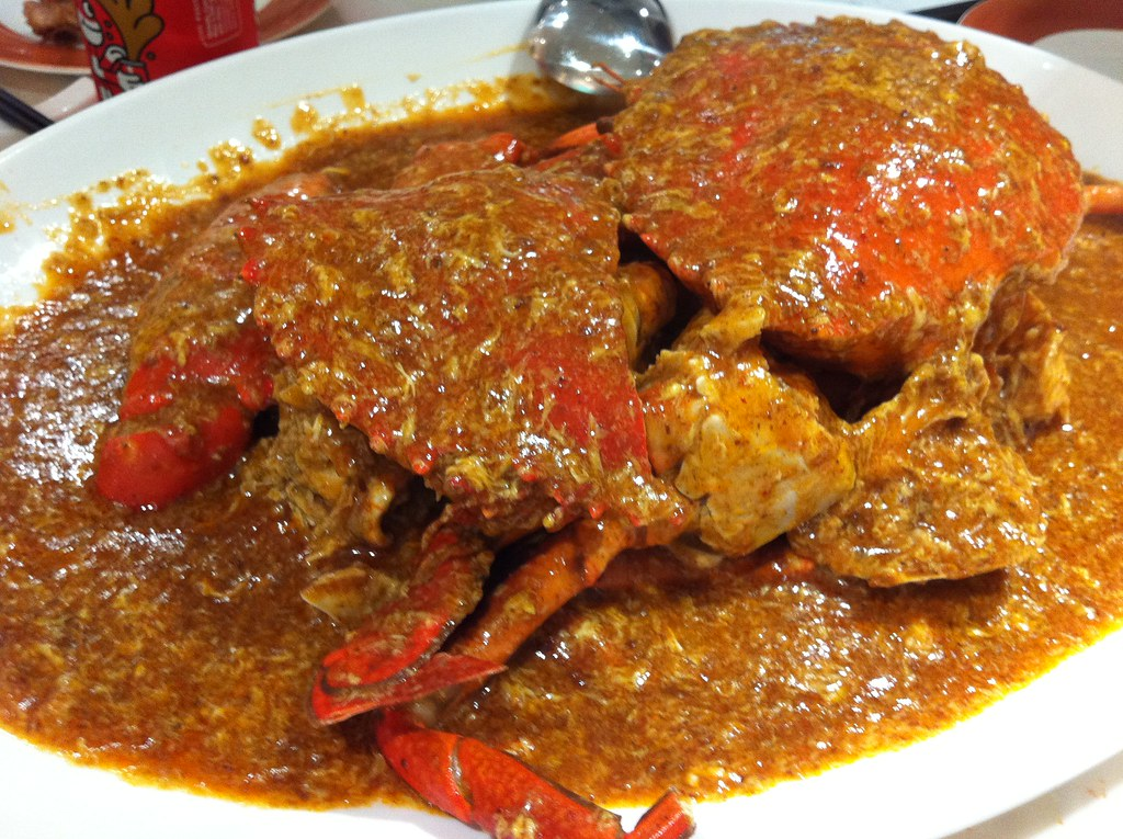 Singapore chili crab photo courtesy of Chris Chen on Flickr