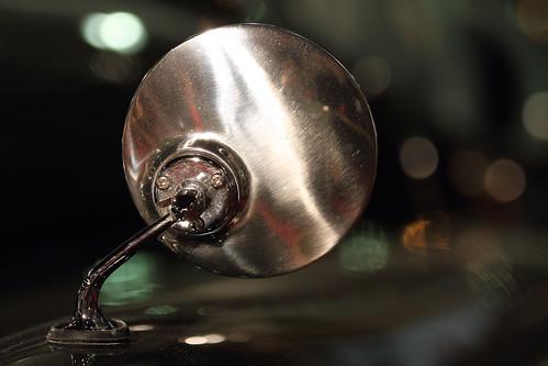 Rearview Mirror of Jaguar XK 140 MC Roadster