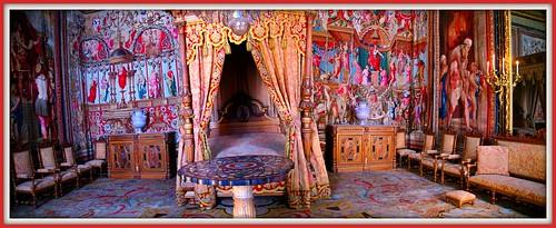 Chambre de Anne d'Autriche - Fontainebleau - France