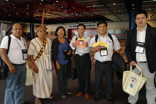 Pangoa Cooperative members from Peru